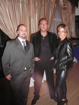 Juan Pablo Del Alcázar Ponce, Byron Sanchez Guzmán y Pamela Guzmán