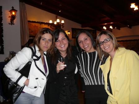 Dra Belén Jaramillo, María Elena Serrano, Patricia Paez y Lorena Gavela
