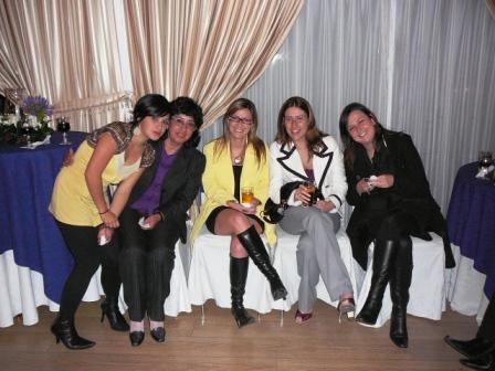Diana Paez, Sylvia Yanez, Lorena Gavela, Belén Jaramillo y María Elena Serrano