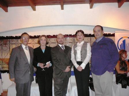 Hernan Del Alcazar Andrade, Susana Ponce de Del Alcazar, Juan Pablo Del Alcázar Ponce, Martha Ponce Montesinos y Christian Del Alcazar Ponce