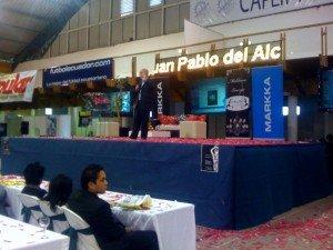 Exposición Juan Pablo Del Alcázar Publiexpo