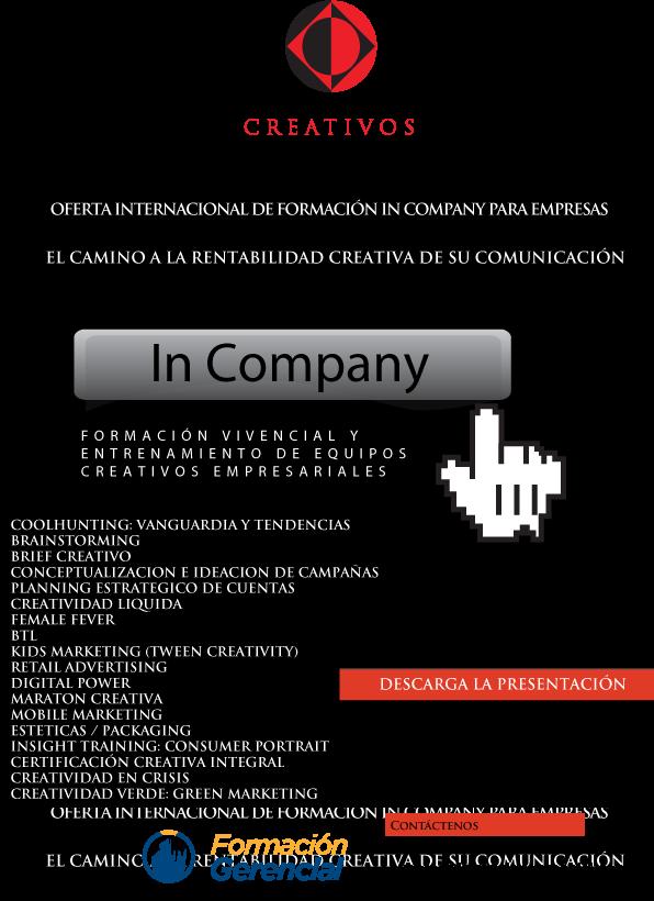 Oferta In Company Escuela de Creativos de Argentina