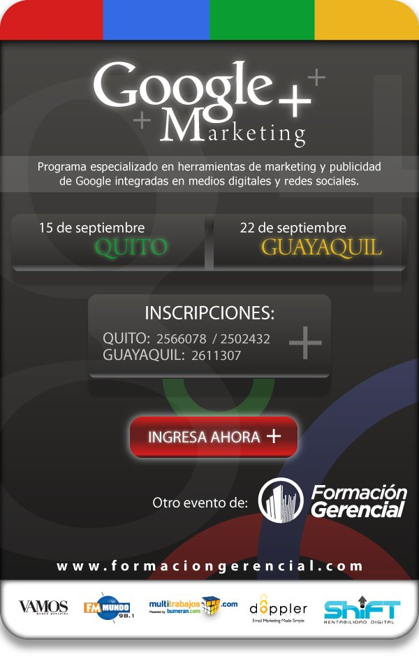 Google Marketing Plus
