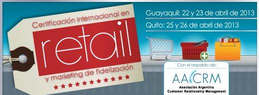 Certificación Retail y Fidelización 2013