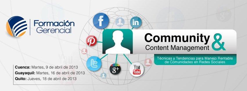 Curso Community & Content Management