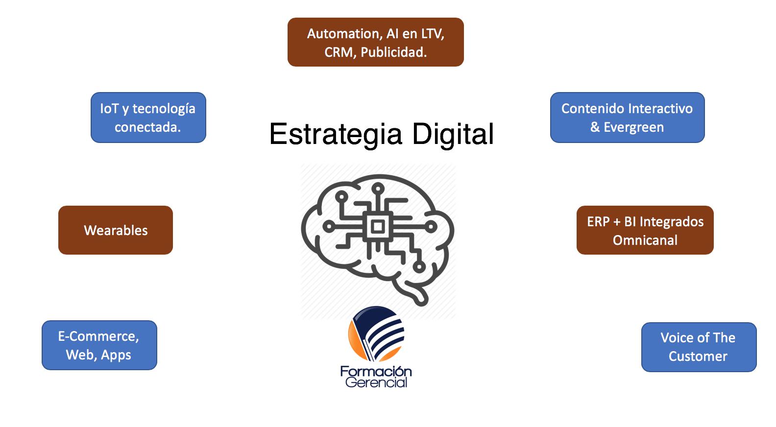 Componentes Estrategia Digital 2018