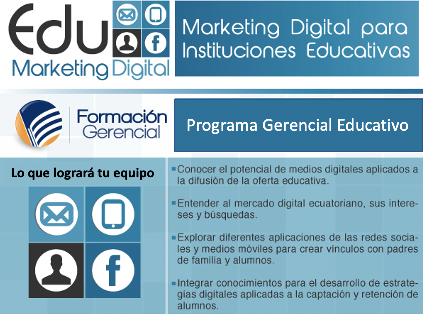 Marketing Digital Educativo