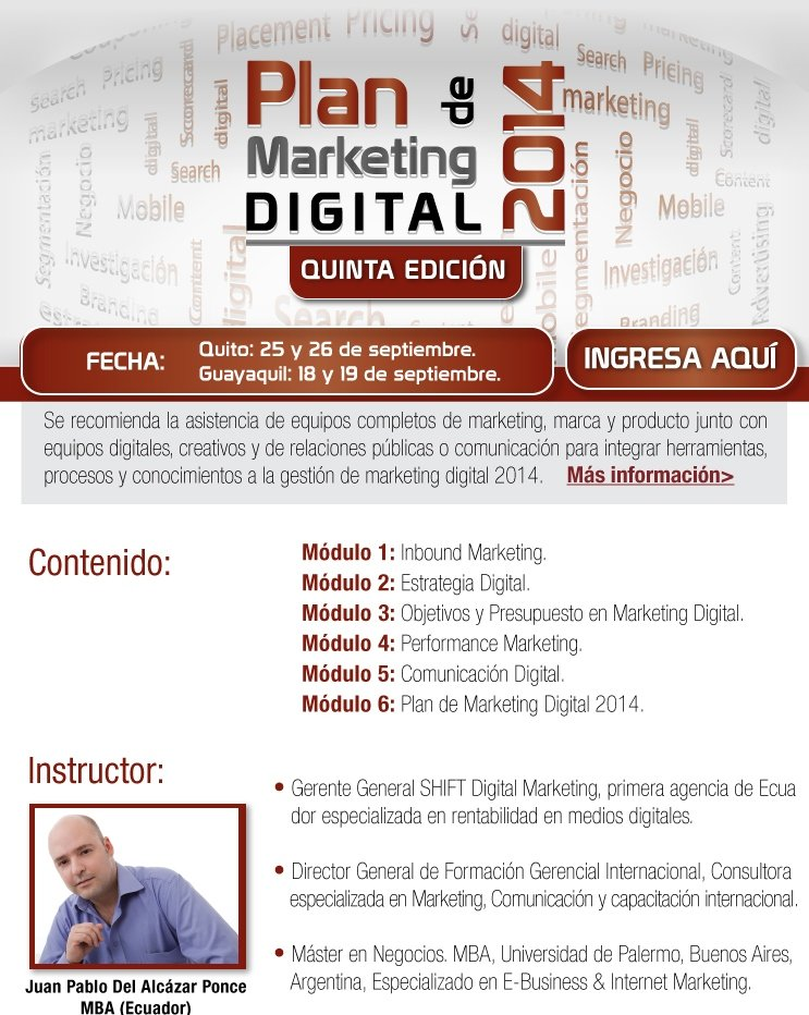 Plan de Marketing Digital 2014