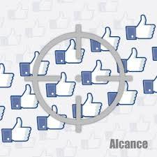 Crecimiento de alcance en páginas facebook