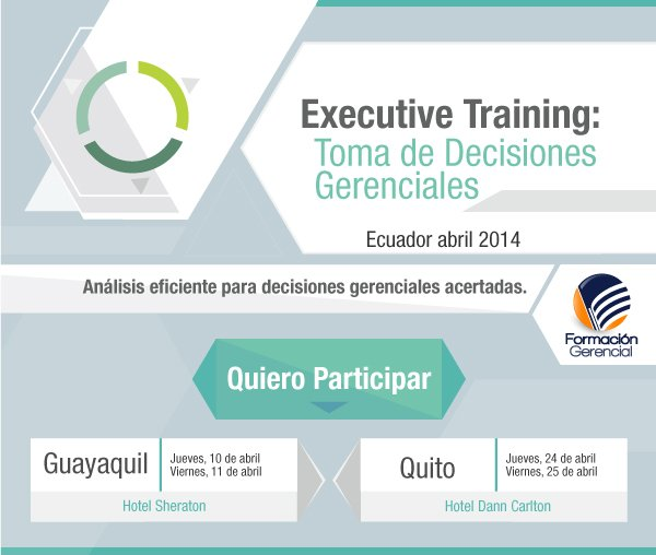 Executive Training: Toma de Decisiones Gerenciales