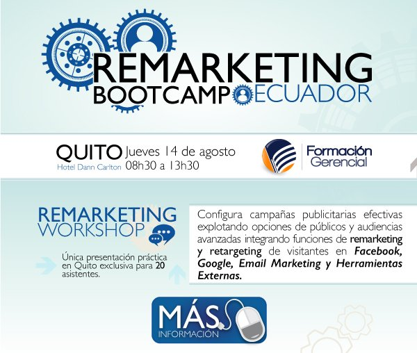 Remarketing Bootcamp - Ecuador