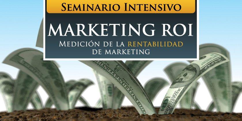 ¿Sábes cuanto rinde cada dólar que inviertes en Marketing?