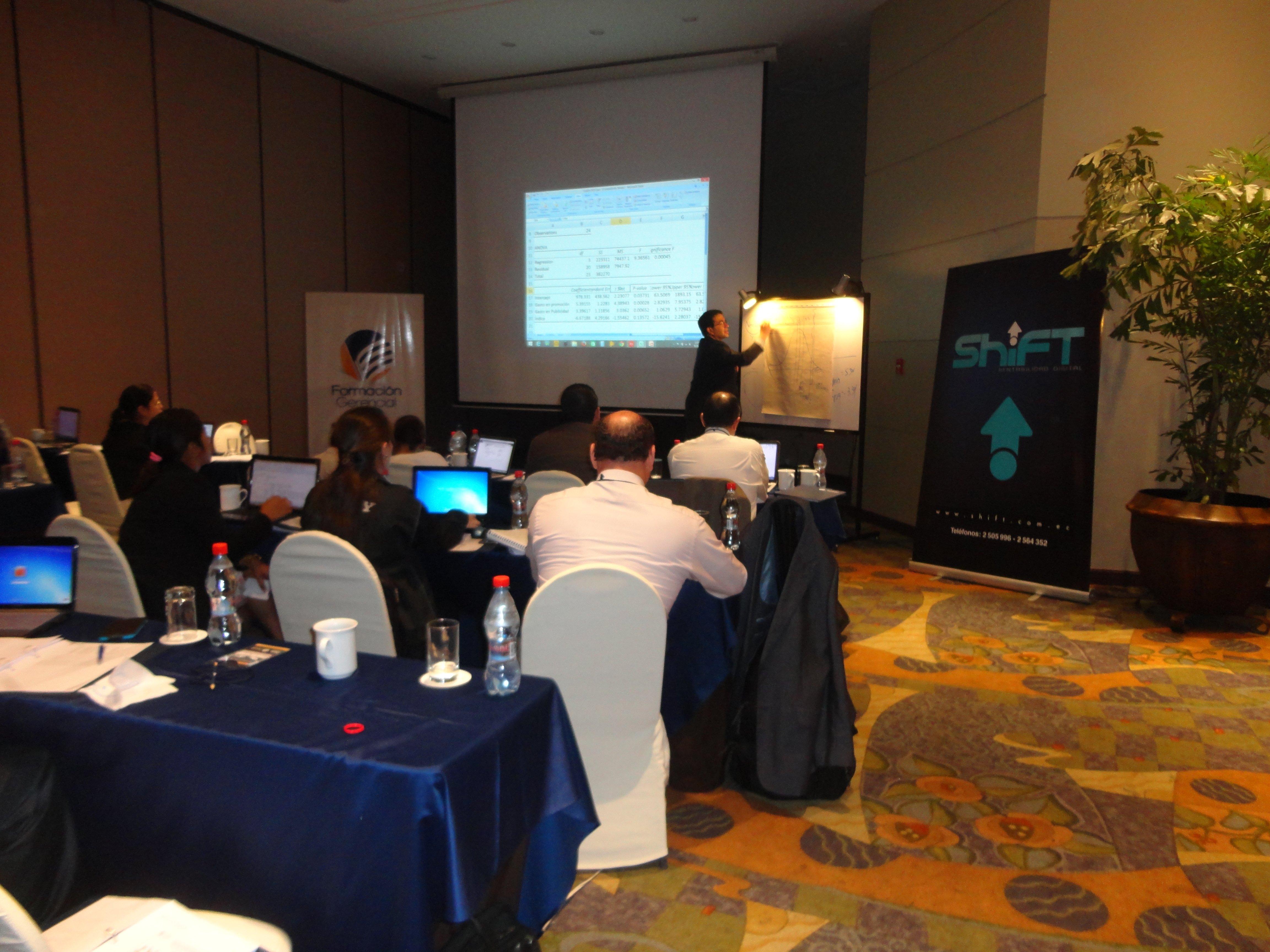 Seminario Marketing ROI Guayaquil