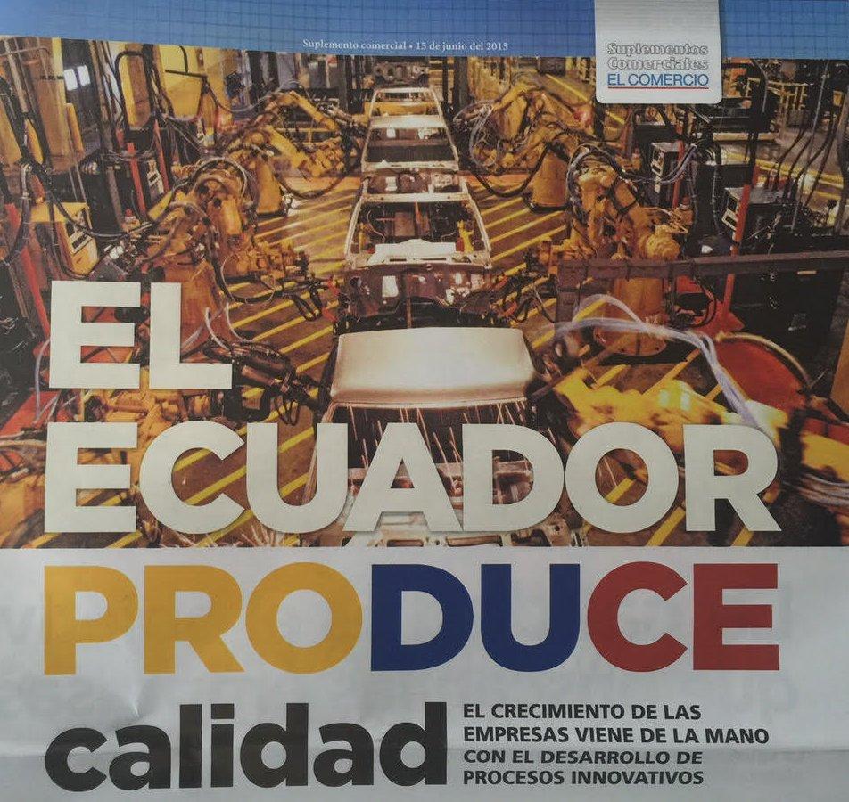 Entrevista Diario El Comercio Ecuador Produce