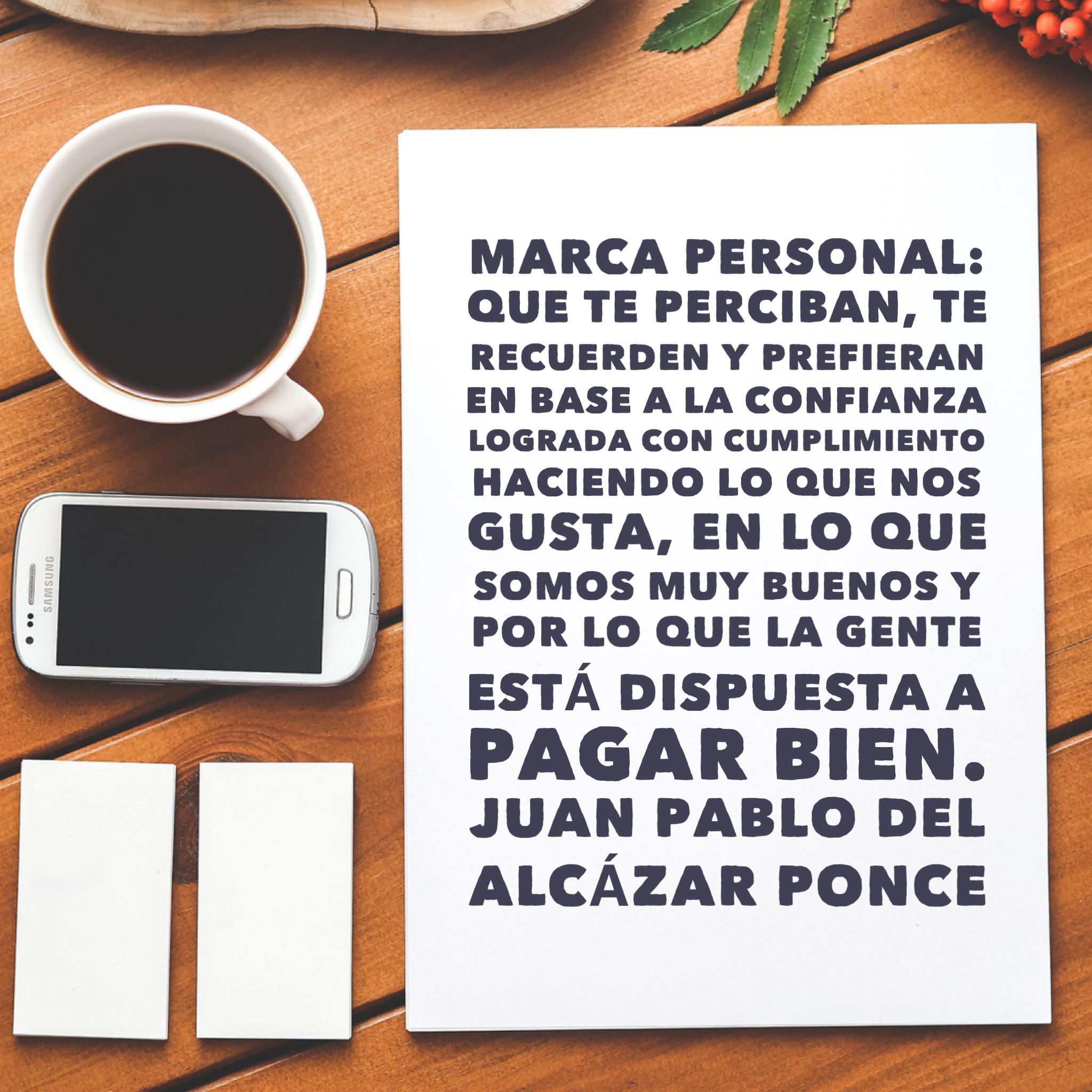 Marcas Personales Del Alcazar