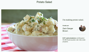 Potato Salad Crowdfunding Ecuador