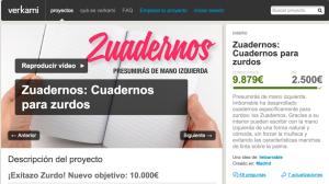 Zuadernos Crowdfunding Ecuador