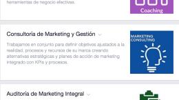 Servicios Páginas Facebook