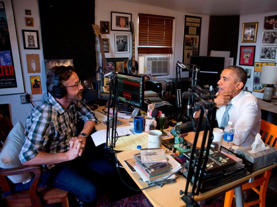 Podcasting Obama