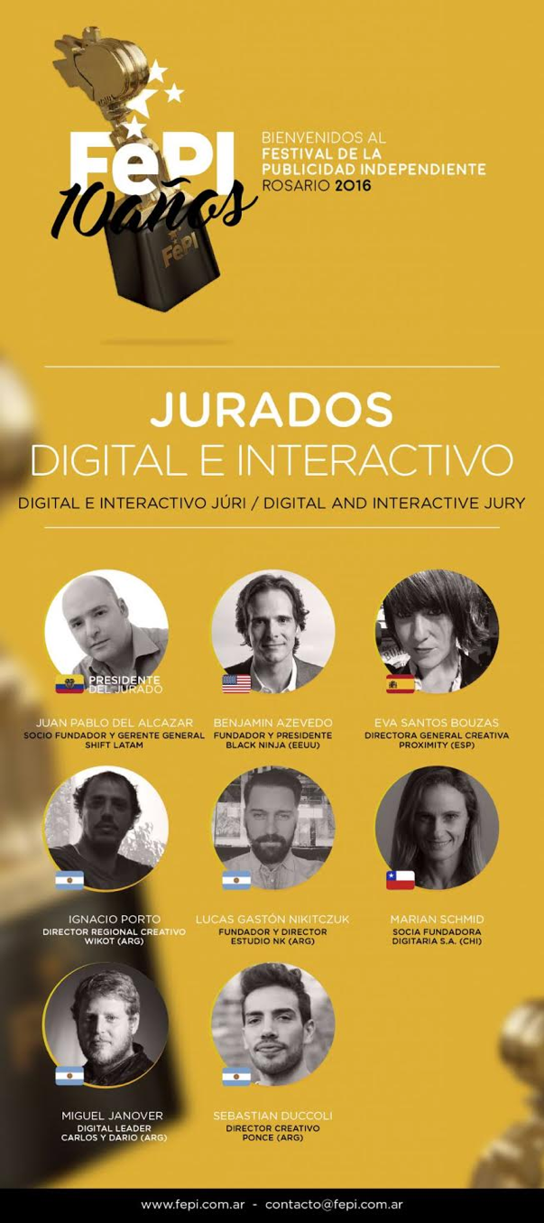 Jurado Digital e Interactivo FePI