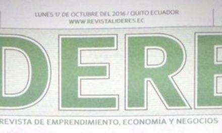 Reportaje Revista Líderes 17 de octubre 2016 Juan Pablo Del Alcázar Shift Latam
