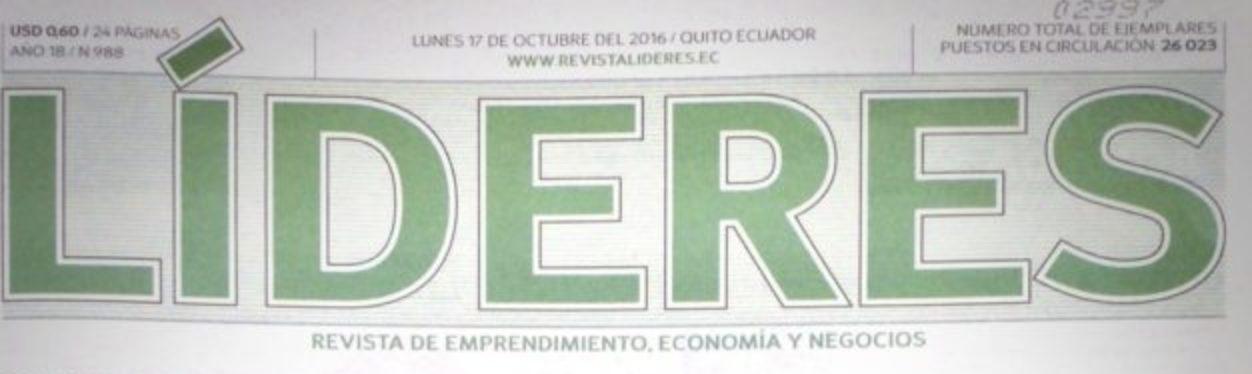 Reportaje Revista Líderes Juan Pablo Del Alcázar