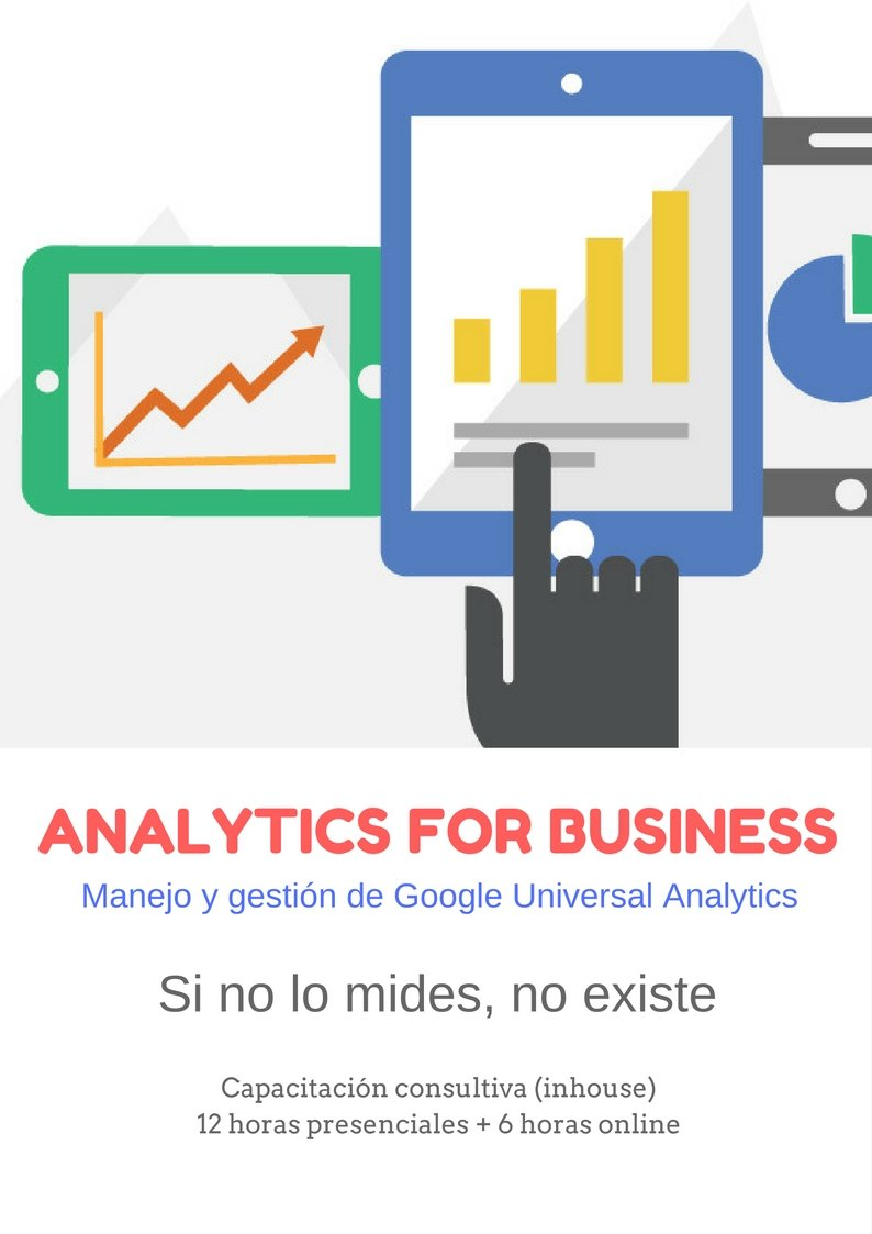Capacitación Consultiva Analytics for Business