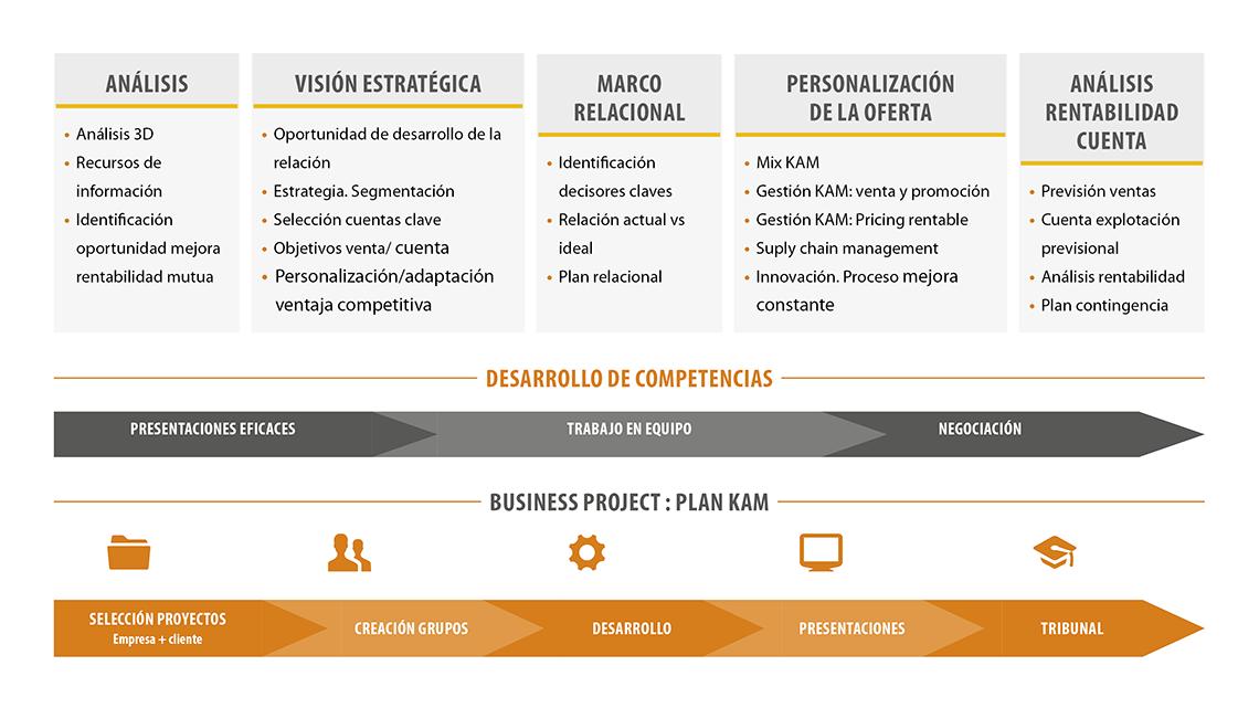 Estructura y Planificación de Cuentas Clave