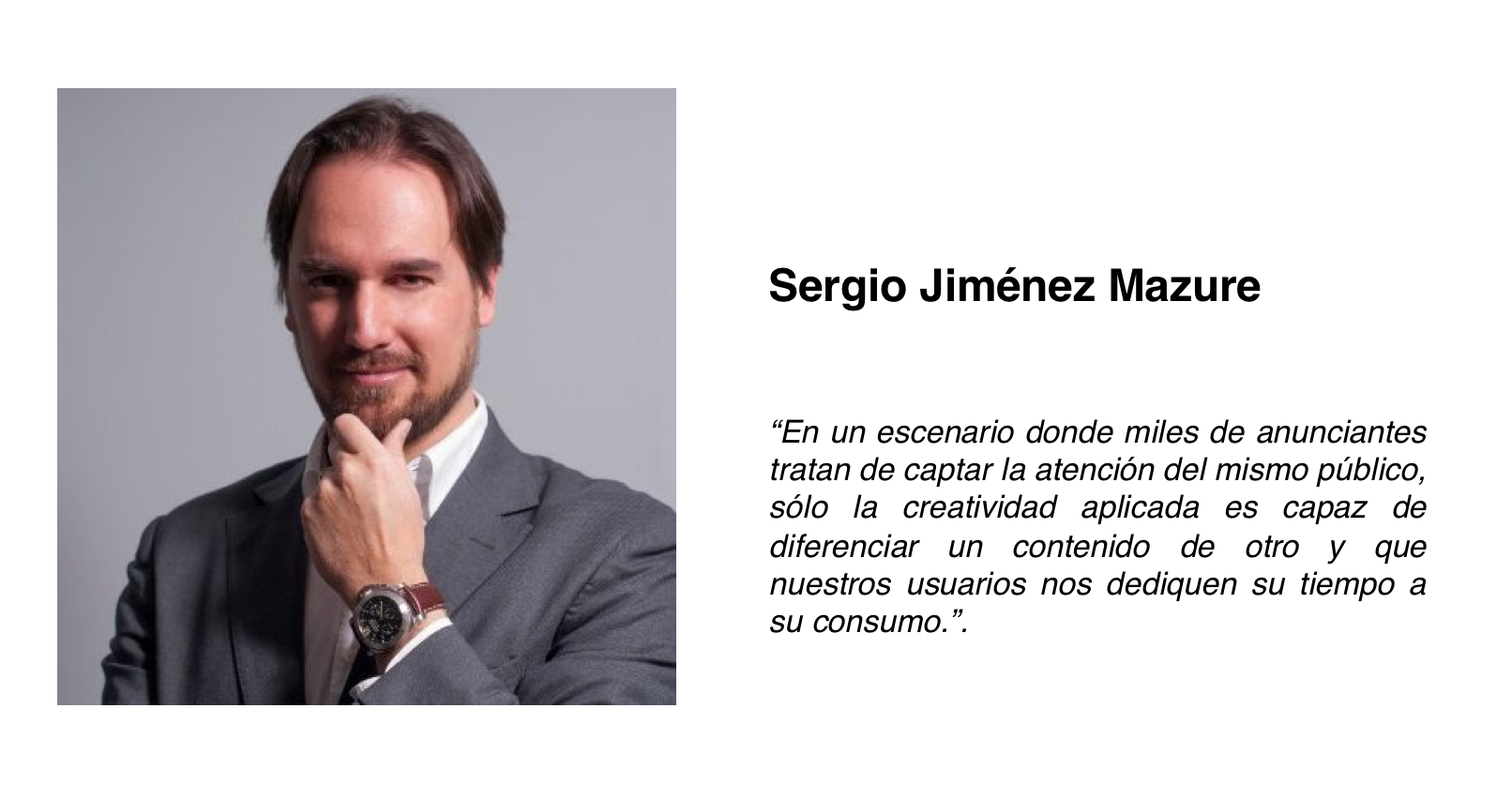 Sergio Jiménez Mazure Community Management