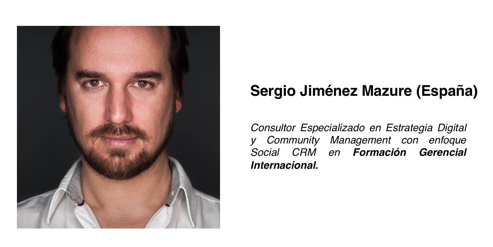 Entrevista: Community Management. Sergio Jiménez Mazure