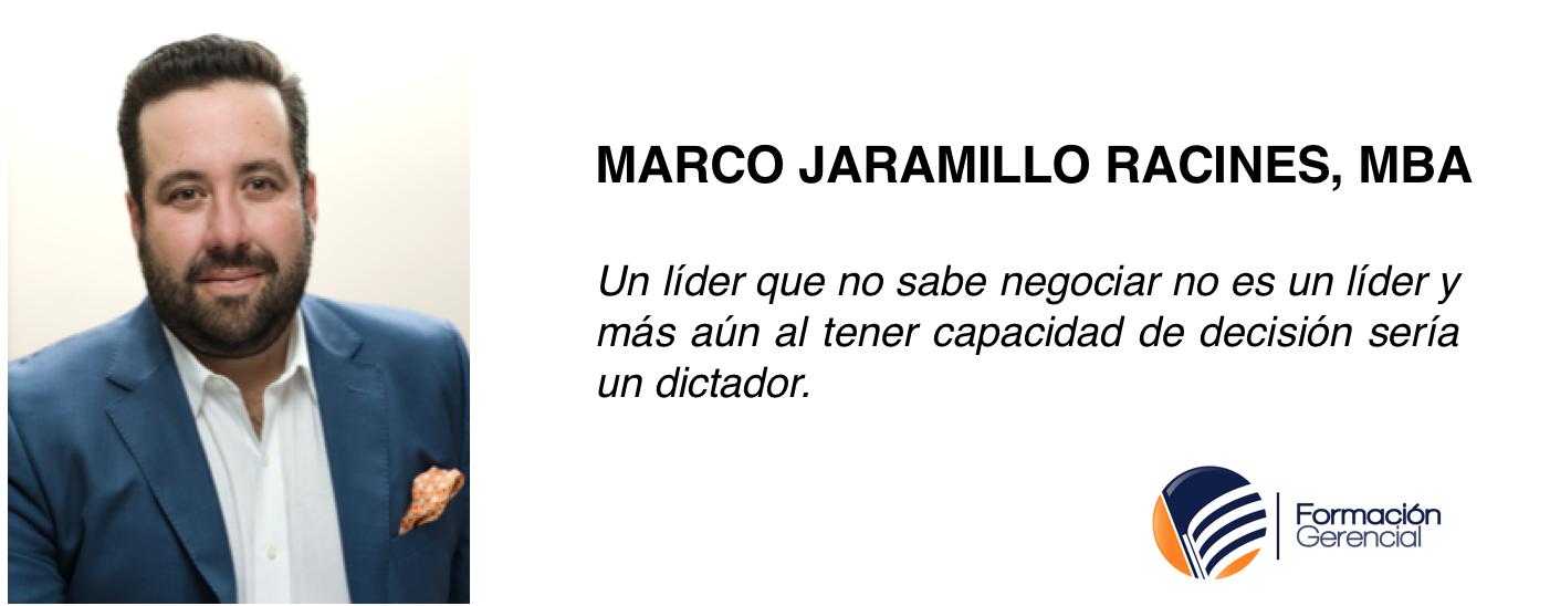 Marco Antonio Jaramillo Racines Negociación Harvard