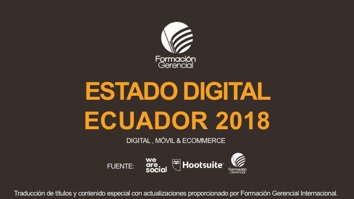 Estadísticas Digitales Ecuador