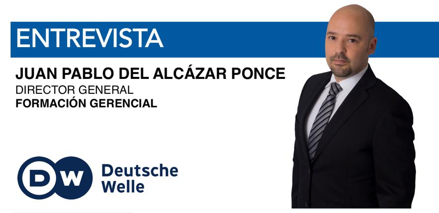 Entrevista en Deutsche Welle a Juan Pablo Del Alcázar Ponce