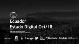 Ecuador Estado Digital Octubre 2018