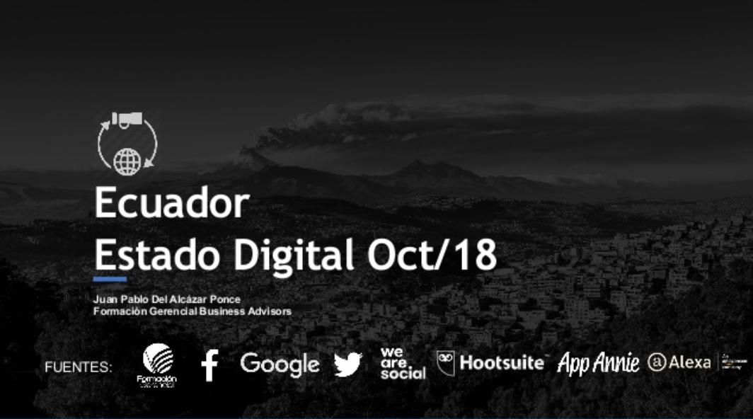 Estado Digital Ecuador – Estadísticas Redes Sociales, Aplicaciones y Sitios Web Ecuador