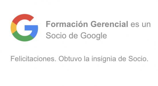 Formación Gerencial Google Partners Ecuador