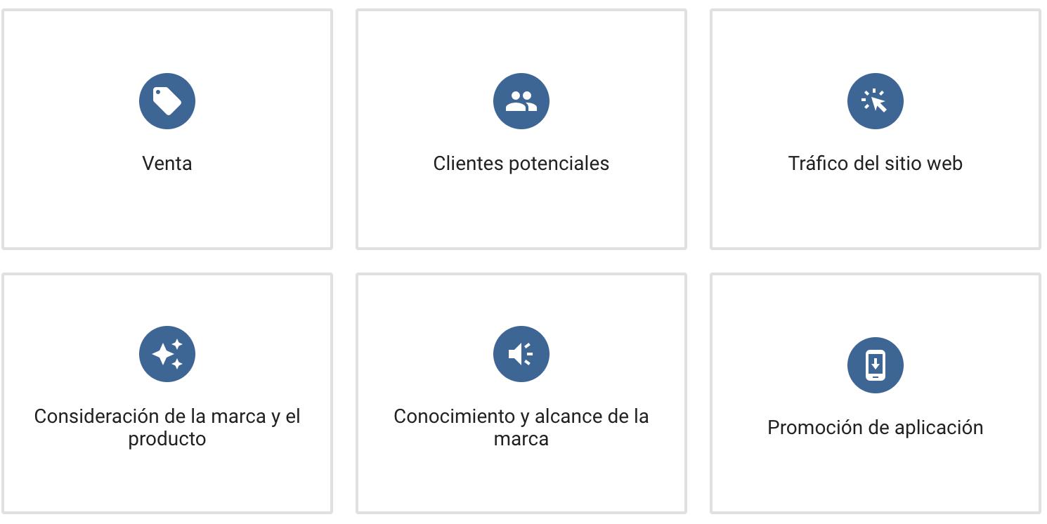 Tipos de Campañas Google 2018
