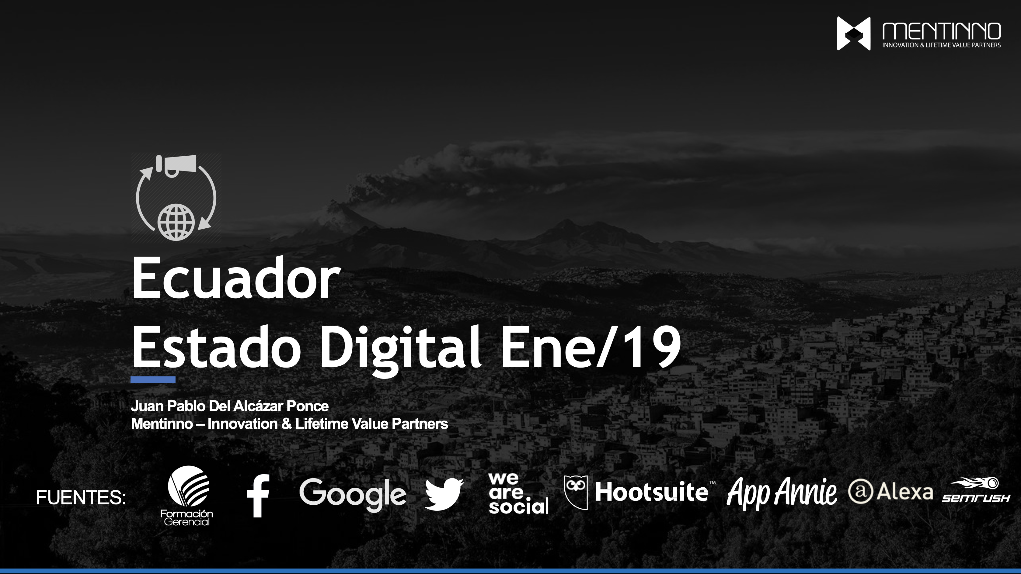 Estado Digital Ecuador 2019 – Estadísticas Digitales Actualizadas