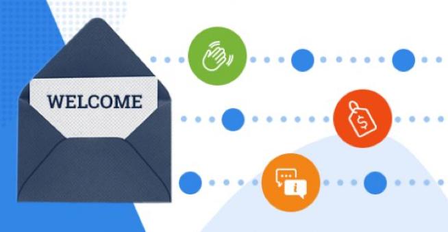 Estrategias de bienvenida y seguimiento con automatización en marketing promocional.