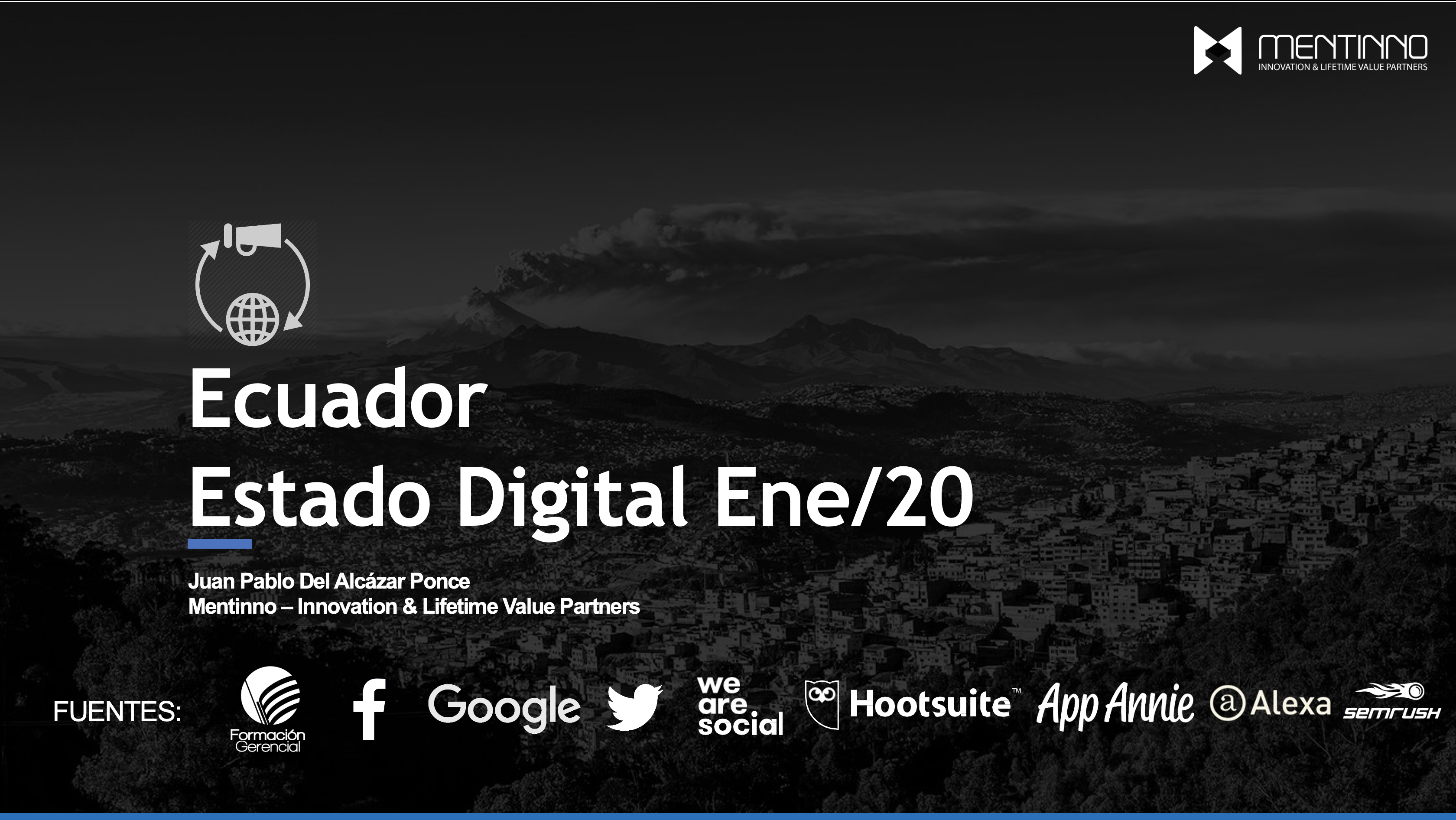 Estado Digital Ecuador 2020 – Estadísticas Digitales Actualizadas