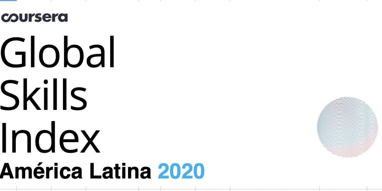 Ranking habilidades en América Latina de Coursera Global Skills Index 2020