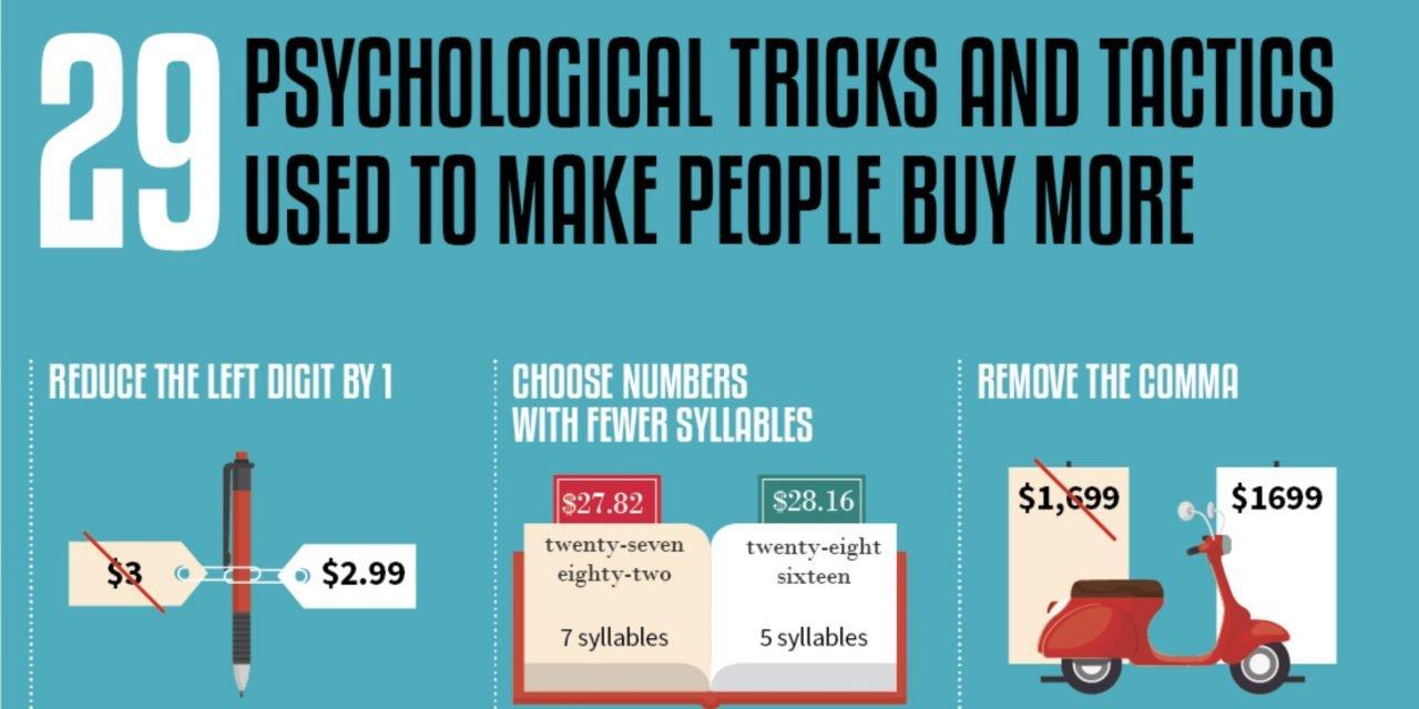 29 Técnicas psicológicas para vender más y mejor