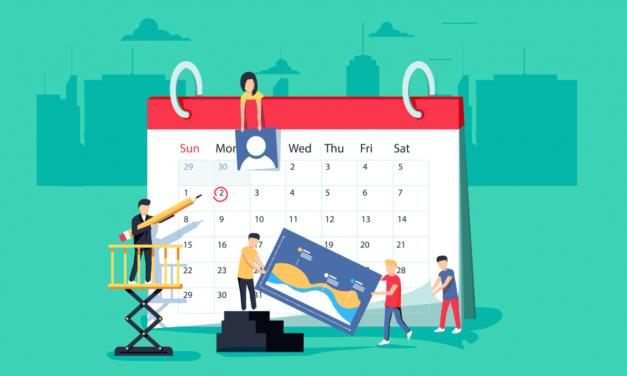 Calendario de fechas para contenido, publicaciones, promociones y campañas de comunicación