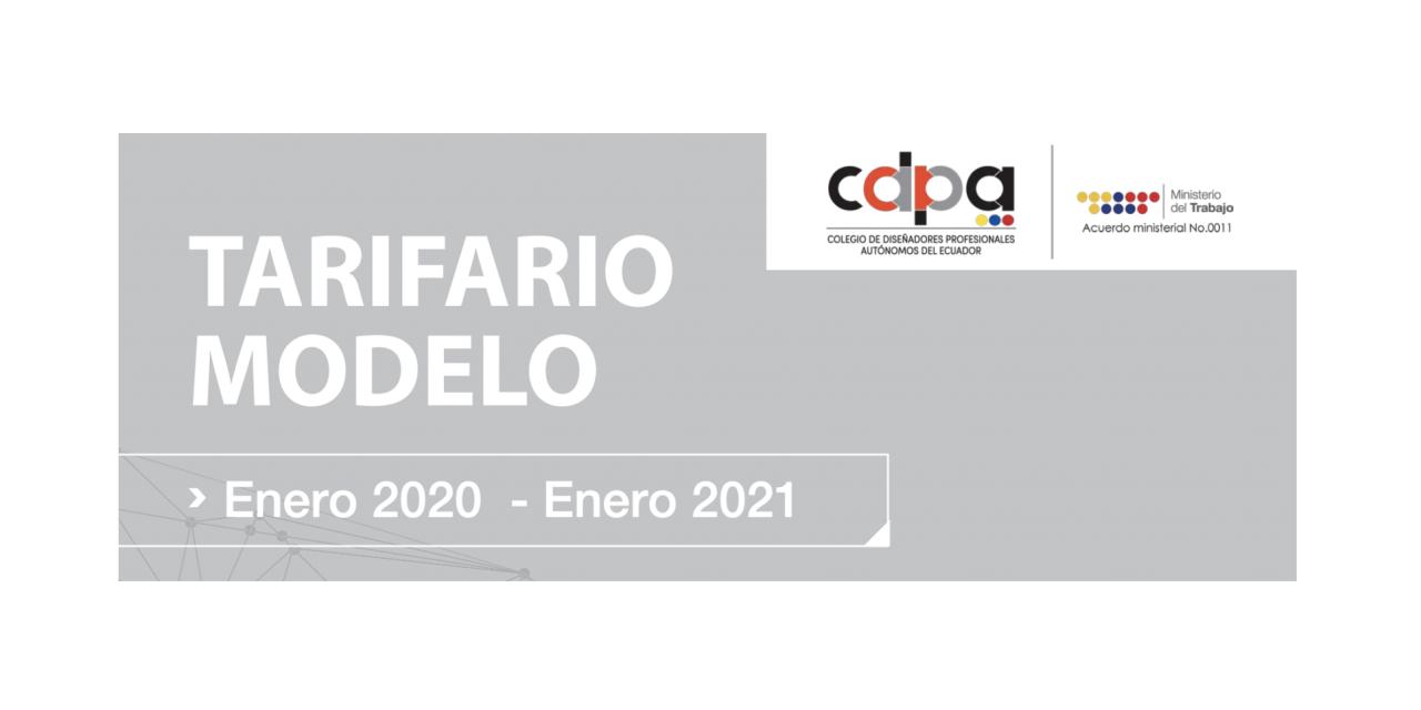 Tarifario servicios de diseño y digitales en Ecuador 2021